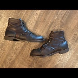 Red Wing Iron Ranger Style No. 8111 Boots